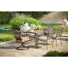 Outdoor Furniture Martha Stewart martha stewart living augusta 7 piece patio dining set 2 11 801