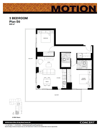 motion apartments floor plans 570 bay street toronto