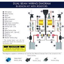 installation guide kensun noticeable 9007 headlight wiring diagram