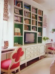 summer in newport painted bookshelves