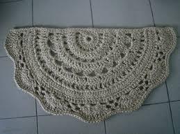Half Circle Kitchen Rugs Half Round Kitchen Rugs Doormat Half Circle Crochet Jute Door