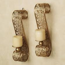 Wall Candle Holders Sconces The Elegant Wall Sconce Candle With Regard To Warm Earthgrow
