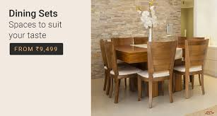 cheap wood dining table furniture buy furniture फर न चर online at best prices only