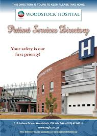 toronto general hospital floor plan woodstock hospital patient services directory by willow publishing