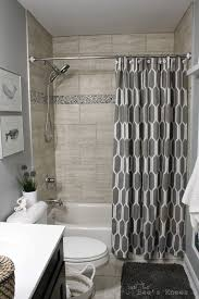 Grey Bathroom Tile by Diy Bathroom Remodel On A Budget And Thoughts On Renovating In