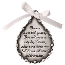 personalized tear shaped memorial ornament at catalog classics