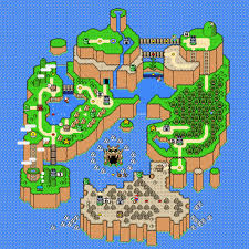 Map Poster Super Mario World Map Poster U2013 Nerdemia