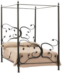 Canopy Bed Curtains Queen Bedding Canopy Frame The Josephine Four Poster King Or Queen Black