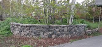 Concrete Block Garden Wall by Concrete Block And Brick Products Unilock Estate Wall Shown In