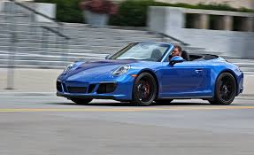 porsche 911 gts review 2017 porsche 911 gts cabriolet manual test review car and driver