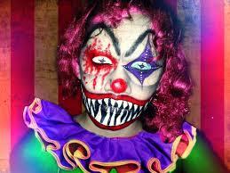halloween 2013 evil clown makeup tutorial youtube