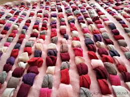 How To Make A Rag Rug From T Shirts Diy T Shirt Shag Rug U2013 Look At What I Made