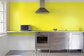 repeindre faience cuisine peinture cuisine blanche et bois pour carrelage pas cher moderne
