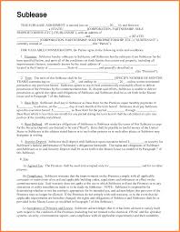9 commercial sublet lease agreement template purchase agreement