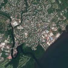 map of suva city satellite map of suva