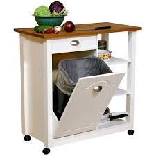 best butcher block kitchen cart with trash bin unusual kitchen terrific butcher block kitchen cart with trash bin pretty