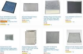 stove top exhaust fan filters kitchen elegant exhaust range hood filters buy grease for hoods