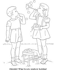 kids coloring pages children embroidery child