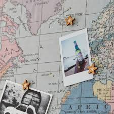 Map Fabric Adventure Awaits U0027 Fabric World Map Noticeboard By The Crafty