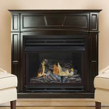 Vent Free Lp Gas Fireplace by Pleasant Hearth 46 In Full Size Vent Free Gas Fireplace In