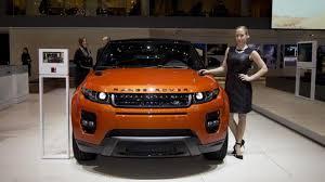 orange range rover evoque range rover evoque autobiography dynamic flagship model debuts in