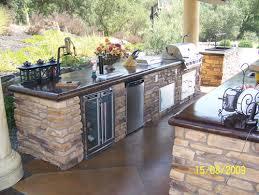 outdoor island kitchen bbq island design with granite countertop outdoor kitchen with