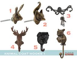 Kitsch Bedroom Furniture Animal Coat Hooks Stately Kitsch