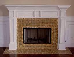 home design fireplace tile ideas craftsman southwestern large