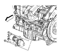 how do you replace a starter on a 2007 saturn ion