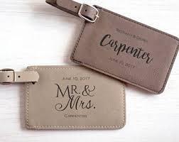 luggage tag wedding favors 25 custom wedding favor luggage tags personalized wedding