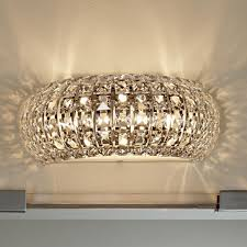 crystal sconces for bathroom bathroom crystal wall sconce light wall lighting hollywood glam