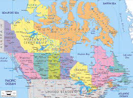 Northern Canada Map Maps Of Canada Map Library Maps Of The World