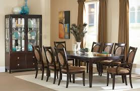 emejing 9 piece formal dining room sets contemporary dining room dramatic 9 piece dining room table and chairs