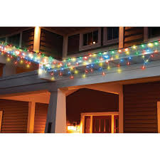 holiday time led lite lock icicle christmas light wheel multi