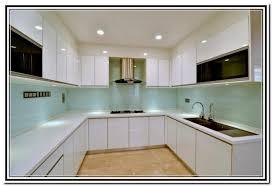 Best  Frameless Glass Kitchen Cabinet Doors Design Inspiration - Glass cabinets for kitchen