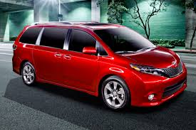 lamborghini minivan the 2017 toyota sienna minivan gets a serious boost video the