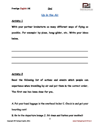 oral speaking conversation english worksheets travel by