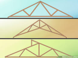 a frame roof how to frame a roof with pictures wikihow