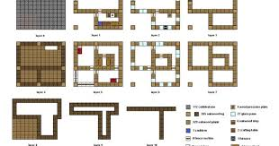 minecraft building floor plans chic design 15 awesome house blueprints minecraft preview cool robot