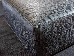 Ottoman Translation by Shadow Play Melina Leather Cocktail Ottoman Lexington Home Brands