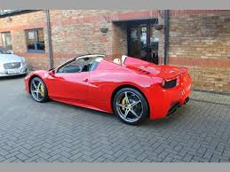 used 458 spider used 2013 458 spider dct vat qualifying for sale in