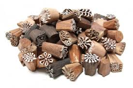 wooden party favors party favors pack of 100 small indian henna wood block sts