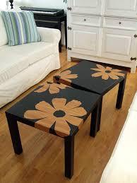 ikea lack tables bamboo veneer flowers ikea lack tables crafty nest
