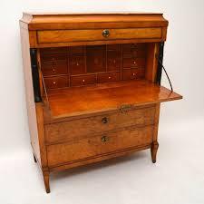 bureau secretaire antique antique biedermeier secretaire desk bureau 1860 to 1870