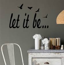 dabbledown decals let it be version 2 the beatles quote sticker dabbledown decals let it be version 2 the beatles quote sticker wall decal nursery art sticker music