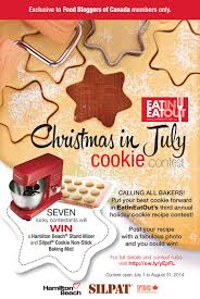 eatineatout u0027s 3nd annual christmas in july cookie contest food