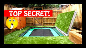 most amazing trampolines ever secret trampoline part 1 youtube