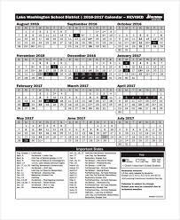 7 vacation calendar templates free sample example format