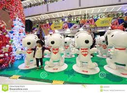 decorations decoration event mall shopping snoopy