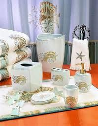 Bath Shower Curtains And Accessories Bath Shower Curtain Towels And Accessories With Starfish And Shells